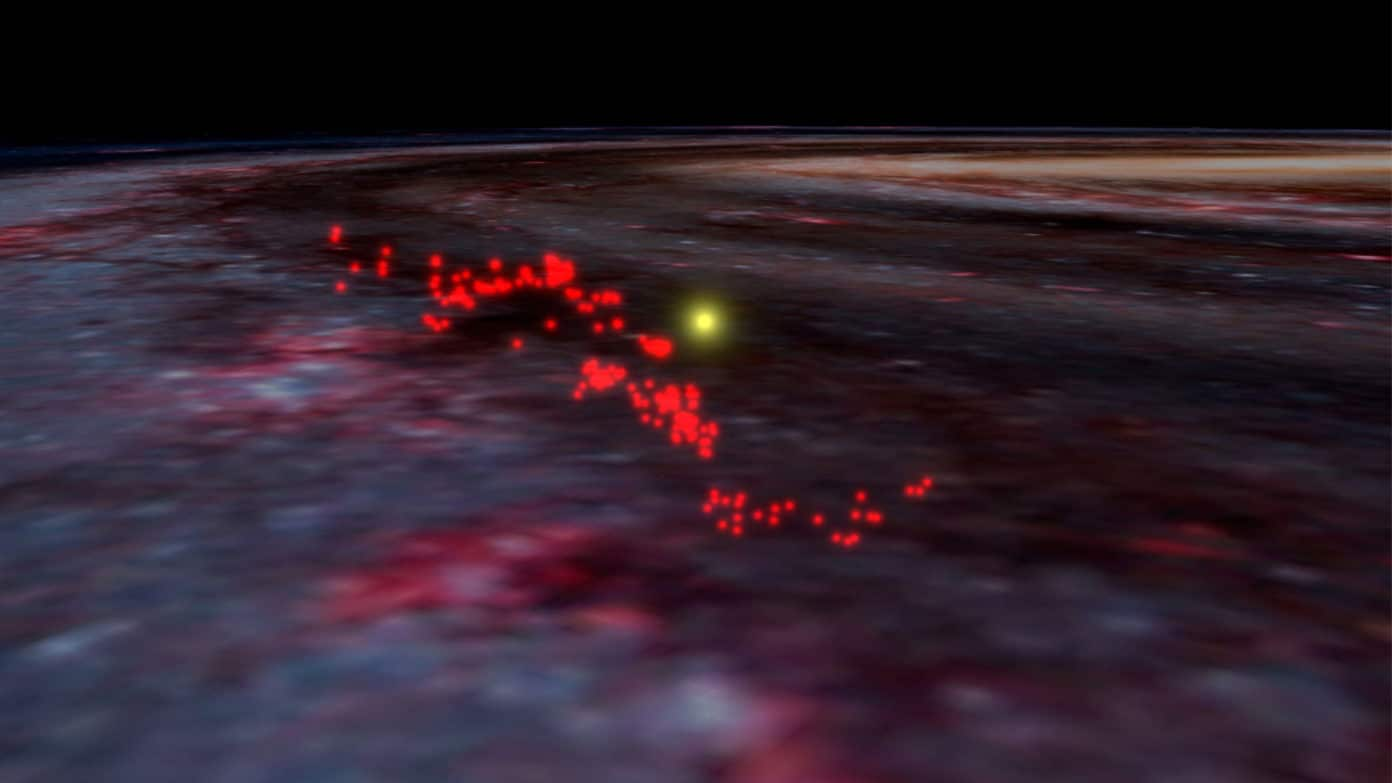 Largest gaseous structure of Milky-Way ever discovered