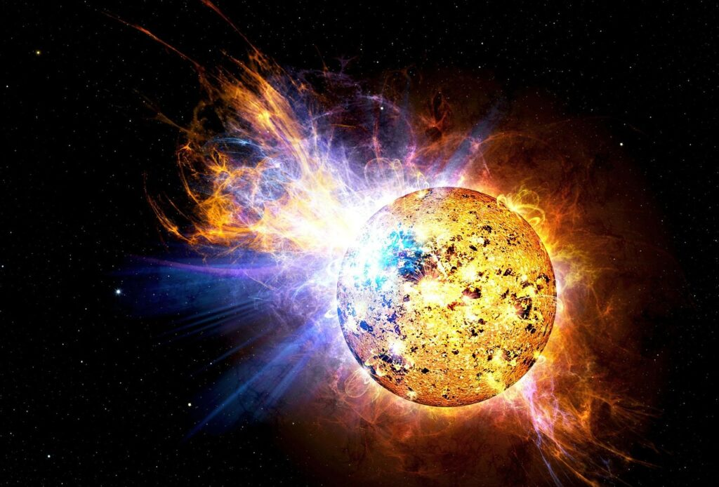 Researchers Develop First-Ever Physics-Based For Predicting Large Solar Flares