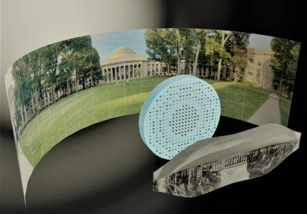 Engineers Design A Wide-Angle Lens That is Completely Flat