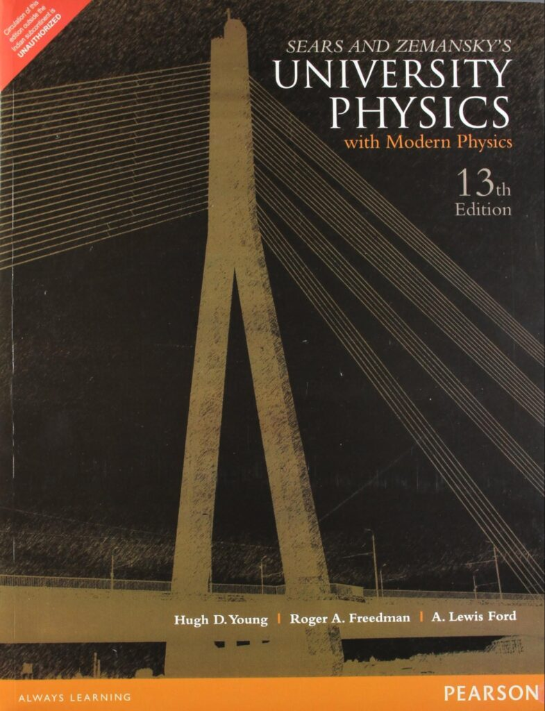 UNIVERSITY PHYSICS WITH MODERN PHYSICS By Hugo D. Young