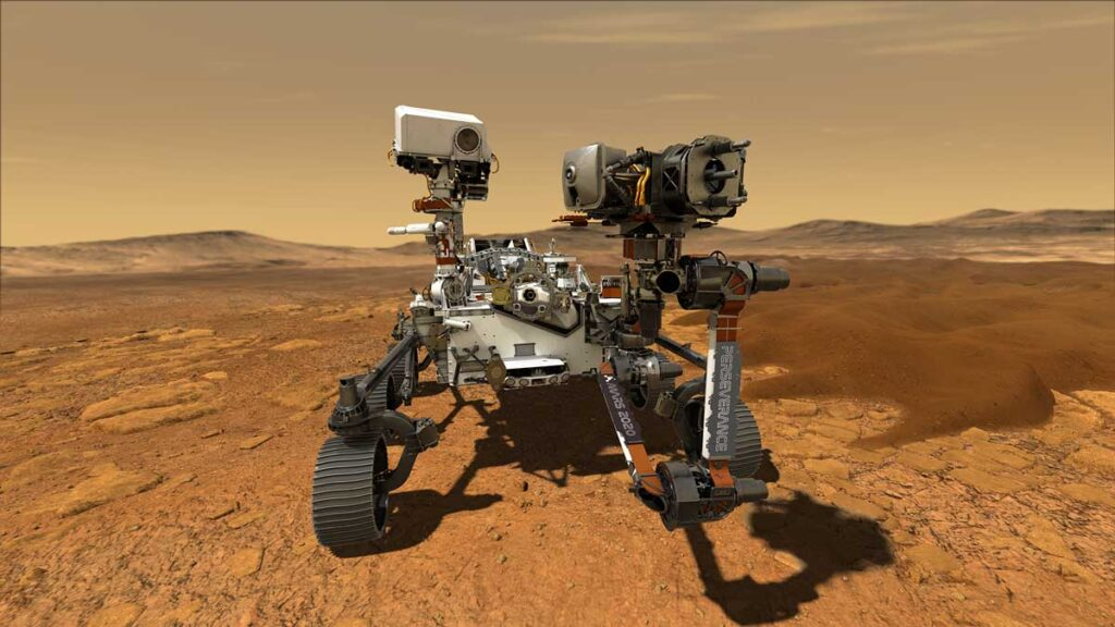 Perseverance Successfully Touches Down On The Red Planet