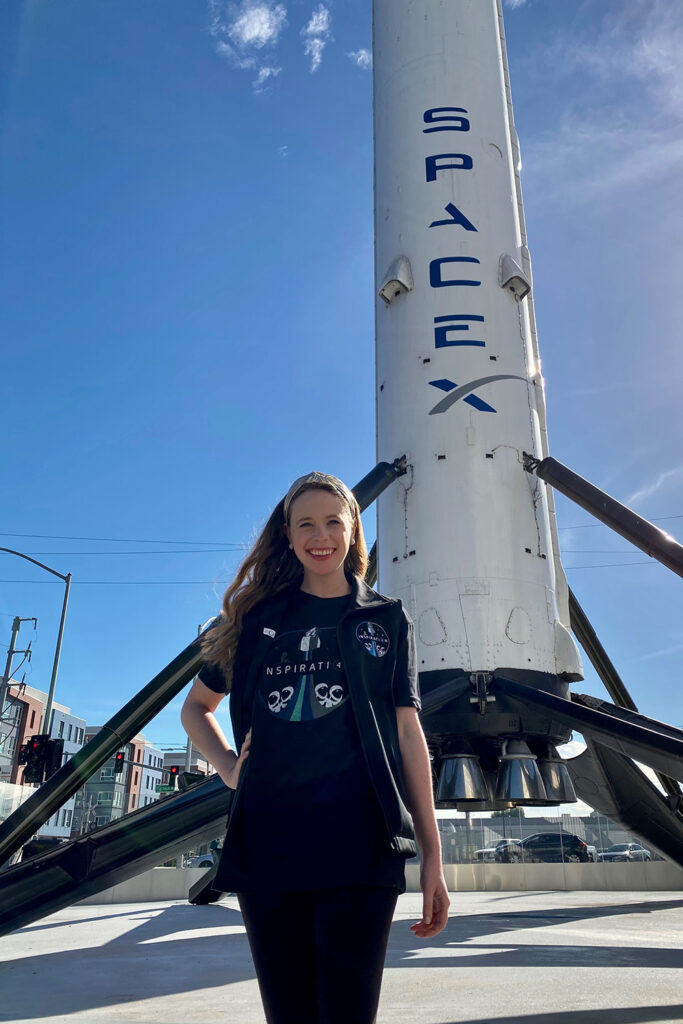 SpaceX Announces Its Second Civilian Crew Member For Its All-Civilian Space Mission