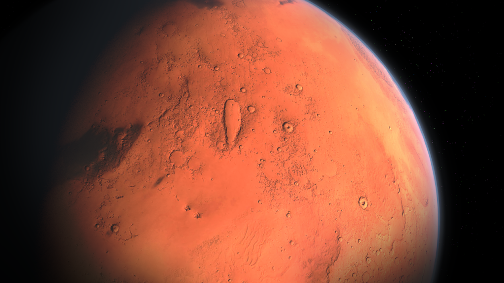 Mars Water Is Still Trapped There