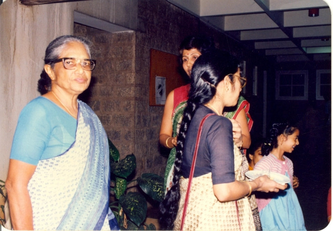 Anna Mani at her Farewell ceremony at RRI