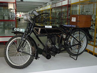 Rudge motorcycle(1912)  even a century later, the bike is preserved in a Coimbatore museum named after G D Naidu.